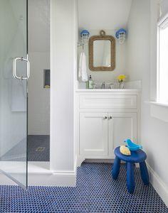 nautical bathroom | Digs Design Company