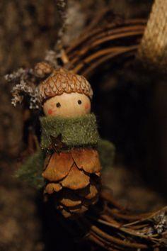 Miniature Gnome Ornaments. $2.00, via Etsy.