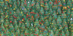 Can you beat the 2 minute average time it takes to find the robin hiding in this puzzle Christmas Tree Forest, Christmas Puzzle, Christmas Crafts, Brain Teasers Pictures, Highlights Hidden Pictures, Escape Room Diy, Reto Mental, Visual Perceptual Activities, Hidden Picture Puzzles