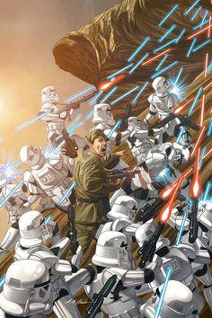 Imperials under attack