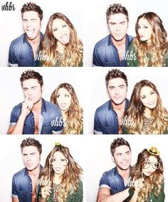 Vanessa Hudgens and Zac Efron, soo cute! I just want them to be together again!