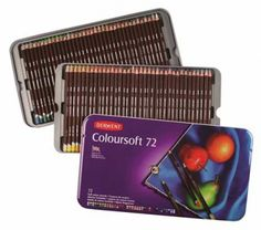Derwent Studio 72 Pencil Tin for sale online Pale Orange, Bright Purple, Pastel Pencils, Colored Pencils, Derwent Pencils, Artist Pencils, Drawing Letters, Green And Grey, Pencil Drawings