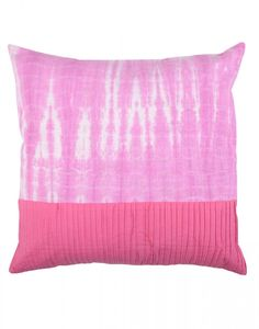 Fuchsia Traditional Tie Dye Cotton Cushion Cover only at $ 2.95