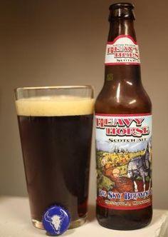 Heavy Horse Scotch Ale by Big Sky Brewing Company