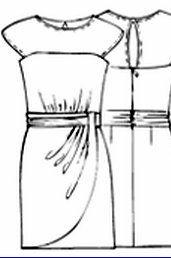 Los modelos de corte clásico nunca pasan de moda. Eso es lo que le pasa al patrón de este vestido publicado, hace algún tiempo, por la página de la revista brasileñaManequim. Es un patrón clásico, pensado como vestido de ceremonia por las telas utilizadas, pero que puede quedar perfecto, alegre y elegante al mismo tiempo, ... Seguir leyendo...