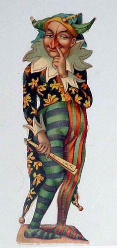 Harlequin:  #Jester, Payaso.