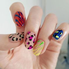 Rock The Round Nails: Comfortable Shape & Coolest Designs - Nail Shapes Ideas - Nail Shapes Squoval, Acrylic Nail Shapes, Acrylic Nail Designs, Acrylic Nails, Acrylic Art, Nails Shape, Round Nail Designs, Simple Nail Designs, Love Nails