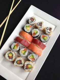 sushis, makis, california