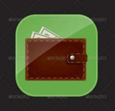 Wallet Icon Vector Illustration #GraphicRiver Vector Illustration, Vector Pattern, includes swatch EPS10 (Contains transparent objects used for shadows drawing, glare and background. Background to give the gloss, opacity), raster version. Illustrations may at your option contain text. Created: 20April13 GraphicsFilesIncluded: JPGImage #VectorEPS Layered: No MinimumAdobeCSVersion: CS Tags: application #apps #arts #backgrounds #colors #communications #computers #connection #downloading #global…
