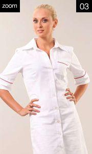 46217  Vestito Laura  M ¾ Profilato  Cot. 100%