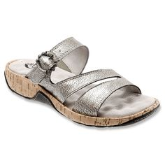 03b6016b0ca15 Whenever you slip into the SoftWalk Bermuda sandal you can almost hear the  beach calling your