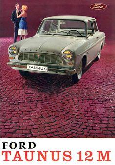 1962/66 Ford Taunus 12 M, type P4