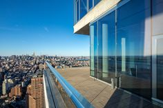 Two Penthouses in Tribeca's  'Jenga Tower' Offered As a Duplex for $65M - Mansion Global Jenga Tower, Leonard Street, Expensive Houses, Bond Street, Pent House, Condominium, Luxury Real Estate, San Francisco Skyline, Manhattan