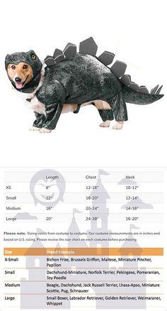 Costumes 52352: Stegosaurus Dinosaur Dog Animal Planet Pet Costume -> BUY IT NOW ONLY: $35.95 on eBay!