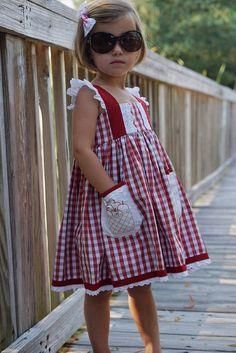 CAMERON DRESS: Sweet Apples