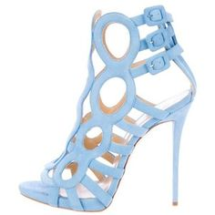 Pre-Owned Giuseppe Zanotti Cage Booties
