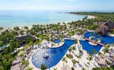 A little slice of Paradise. The Barcelo Maya Beach Resort in the Mayan Riviera.