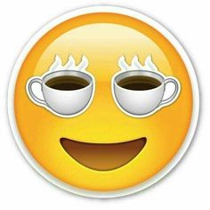 I love coffee emoji Coffee Talk, Coffee Is Life, I Love Coffee, My Coffee, Smiley Emoticon, Emoticon Faces, Happy Emoticon, Smiley Faces, Emoji Images