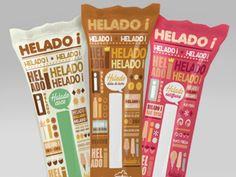 Helado i (Concept) | Packaging of the World: Creative Package Design Archive and Gallery