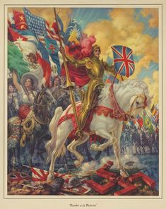 """""""To Victory"""" 1942 Mexican Propaganda Poster Arte Cholo, Cholo Art, Military Diorama, Military Art, Jesus Helguera, Jaguar, Ww2 Propaganda Posters, Mexican Artwork, Patriotic Images"""