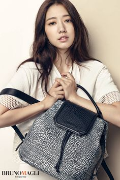 BRUNOMAGLI S/S 2015 Ads Feat. Park Shin Hye | Couch Kimchi