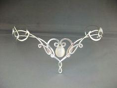 Ithildin Elven Circlet (Tiara) - A Beuatiful bridal headpiece with Elvish inspiration! []