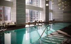 Splashy hotels on pinterest hotels in paris the four for 100 floors 25th floor