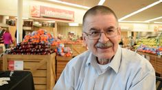 George Moon inside the West Ames Hy-Vee. Moon retired Friday after 50 years working for the grocery company, 43 of them in Ames. Photo by Dan Mika/Ames Tribune http://www.amestrib.com/news/20161230/ames-man-retires-after-50-years-at-hy-vee