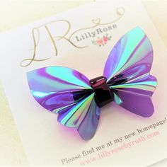 This is a butterfly clip I quickly freehand cut last week as my eldest had been asking for one non stop, I was pleased with how it turned out but I am waiting for new glue as I was not entirely happy with how the clip was attached x Handmade Hair Bows, Diy Hair Bows, Tie Headband, Baby Headbands, Bow Template, Bow Bracelet, Barrette, Bow Earrings, Diy Hair Accessories