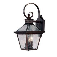 Acclaim Lighting Bay Street 3 Light Wall Lantern & Reviews | Wayfair