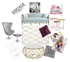"""vintage &Tiffany blue"" by rayanalqattan ❤ liked on Polyvore featuring interior, interiors, interior design, home, home decor, interior decorating, Ballard Designs, Whiteley, Louis Vuitton and vintage"