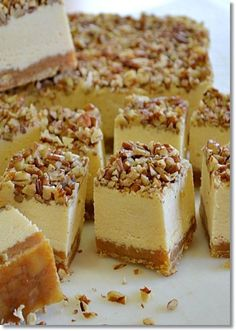 Pecan Pie Cheesecake Fudge, Jordan Bagley made this and brought it to work.....bad girl!!