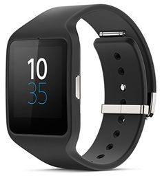 Sony Mobile Sony® SW3 SmartWatch 3 SWR50 Powered by Android Wear (Black)