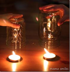 This candle experiment is an easy and memorable way to teach kids that fire needs oxygen. It's a simple demonstration that may help your children remember life-saving information - that you need to smother a grease fire, and that they need to (if possible) keep windows closed during a house fire.