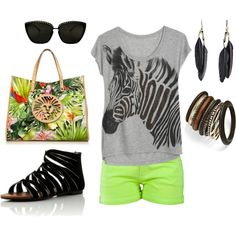 Safari, created by paige-cary on Polyvore