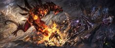 Battle at sky temple by Tung-Monster on DeviantArt