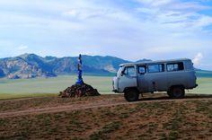 #Mongolië #steppe #ovoo #TiaraTours