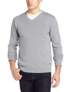 c2e0006910b Calvin Klein Jeans Men s Solid V-Neck Sweater