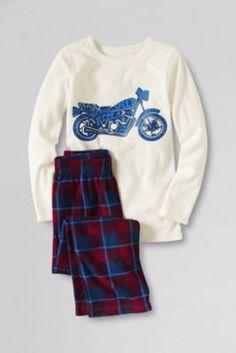 Boys' Fleece Pajama Set