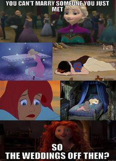 disney the little mermaid ariel cinderella Sleeping Beauty marriage snow white brave Disney Princess frozen elsa