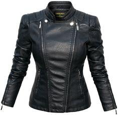 Ekskluzywna Kurtka Damska Ramoneska Motocyklowa Moto Biker Jacket Zameczki model #100 FASHIONAVENUE.PL