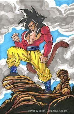 Dragon Ball Z, Realistic Cartoons, Ball Drawing, Goku Super, Son Goku, Big Eyes, Dbz, Chibi, Animation
