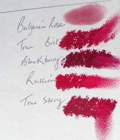 Dark Winter Lip&Blush. All but the darkest for TW too