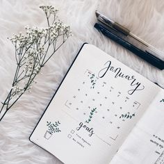 Bullet Journal, Monthly Spread, Monthly Setup, Monthly Goals, Bullet Journal Monat Ideen, Bujo, Bullet Journal Monthly Spread - Frederika (@bujowithfia) on Instagram