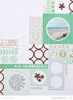 Made with @StudioCalico July Kits + Add Ons || Valley High 2013.