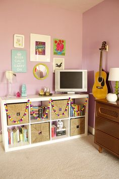 Expedit Bookcase and the Teenage Girl - Laurie Jones Home