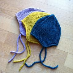 Ravelry: Project Gallery for Garter Ear Flap Hat pattern by Purl Soho