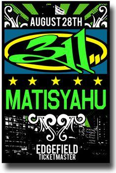 311 Poster + Matisyahu