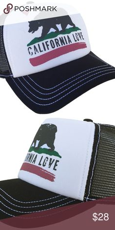 f5ebdd111d002 Brooklyn Hat Co California Love Trucker Cap Brooklyn Hat Co California Love Trucker  Cap Snap Back