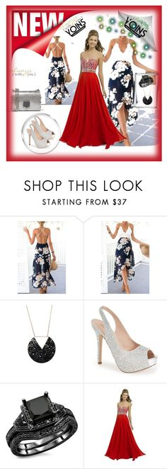 """YOINS"" by sabahetasaric ❤ liked on Polyvore featuring Lauren Lorraine, Blush and Jimmy Choo"